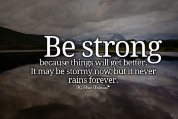be-strong-text