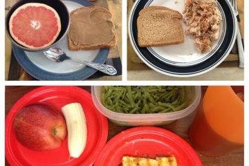 Different Plate Portions Shows Military Diet