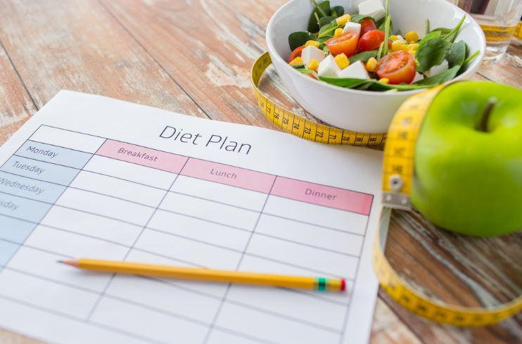 Paper with a diet plan