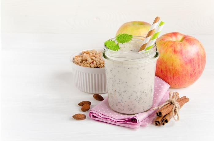 oats-apple-smoothie