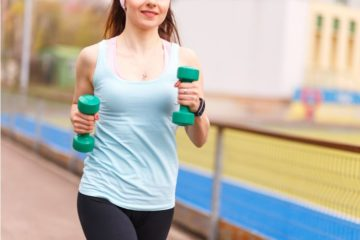 woman-running-with-weights
