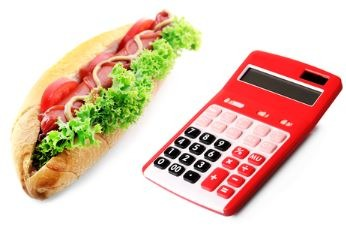 calculator-and-sandwich