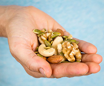 Consuming Healthy Nuts and Fats