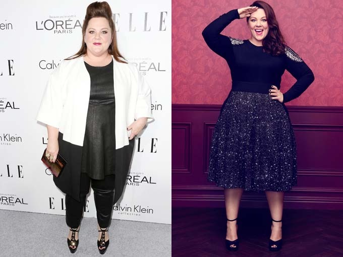 Melissa McCarthy Showing Successful Weight Loss Transformation