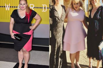 Rebel Wilson Showing Successful Weight Loss Before After