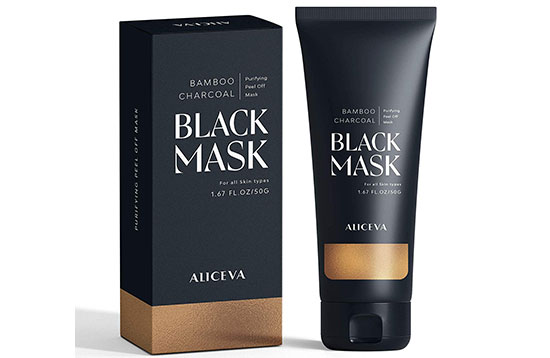 Blackhead Remover Mask (Activated Charcoal) by Aliceva