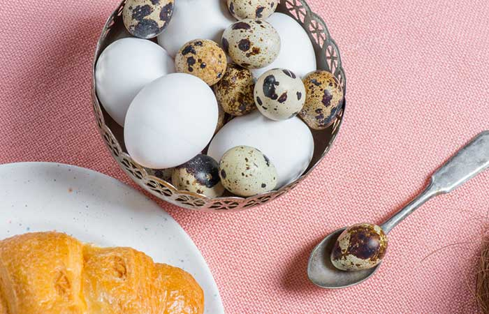 quail eggs versus chicken eggs