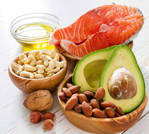 foods that are source of good unsaturated fats