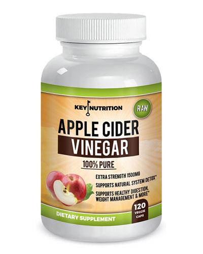 key nutrition apple cider vinegar supplement