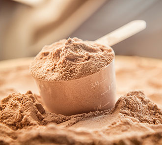 Whey powder for weight-loss