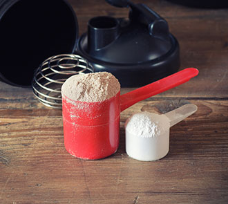 taking whey protein for building muscle