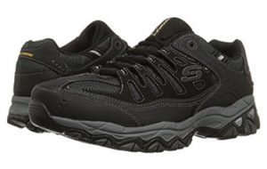 Sketcher's Men's Afterburn Memory-Foam Sneakers