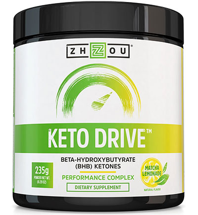 Keto Drive: Revved by Zhou Nutrition Supplement