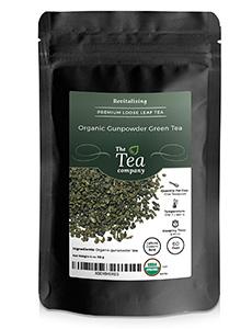 Organic Gunpowder Green Tea by The Tea Company