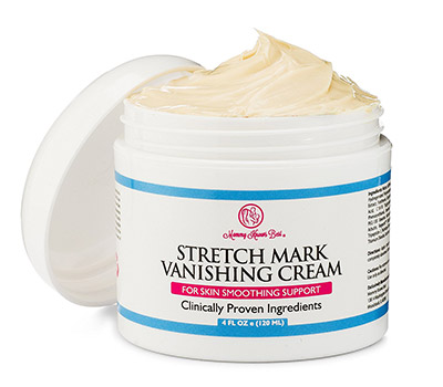 Stretch Mark Cream for Pregnancy by Mommy Knows Best