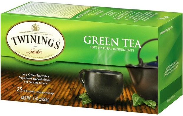 Twinnings Green Tea Box