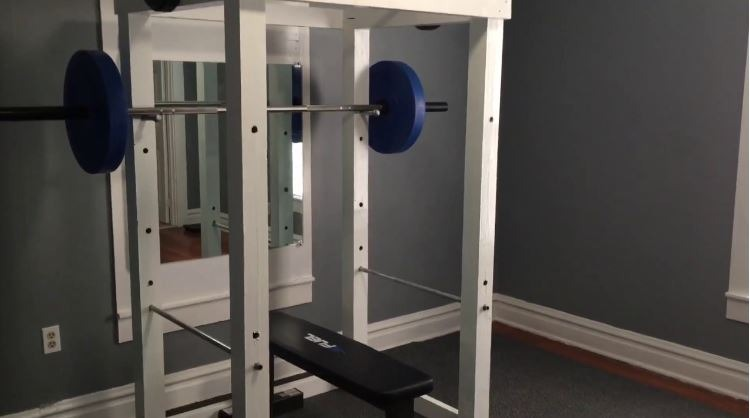 DIY Squat Rack