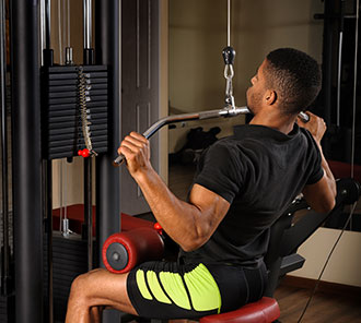 What is Lat Pulldown Machine
