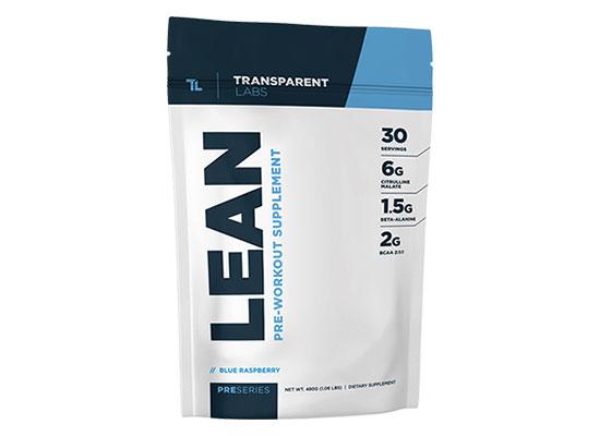 Preseries Lean Pre Workout