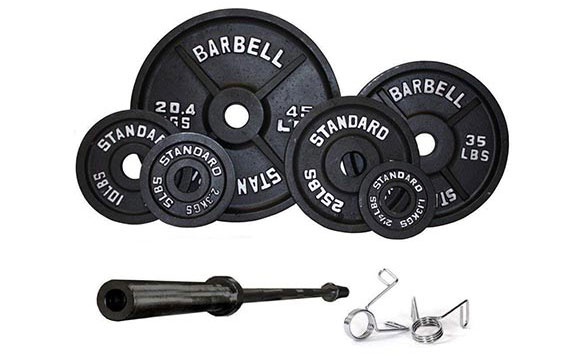 USA Sports Olympic Weight Set by Troy Barbell