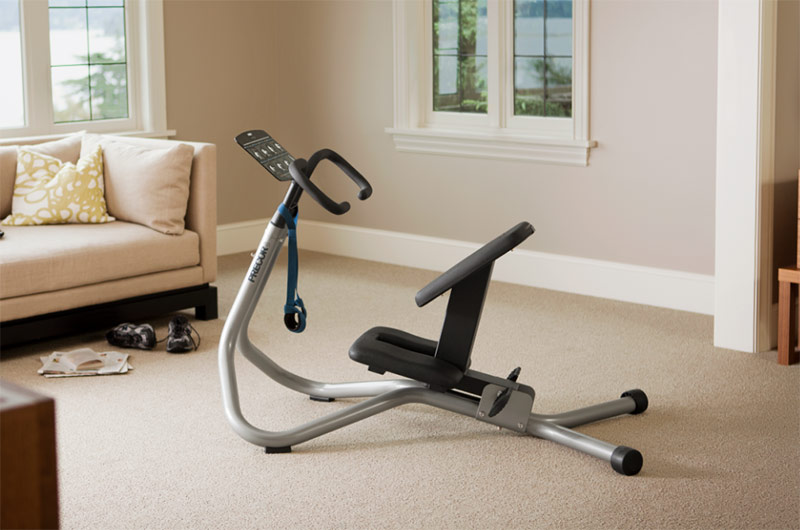 Using Stretching Machine For Splits and Backbends