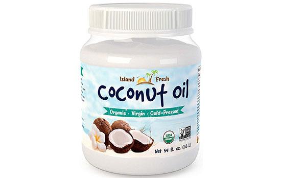 Island Fresh Superior Organic Coconut Oil