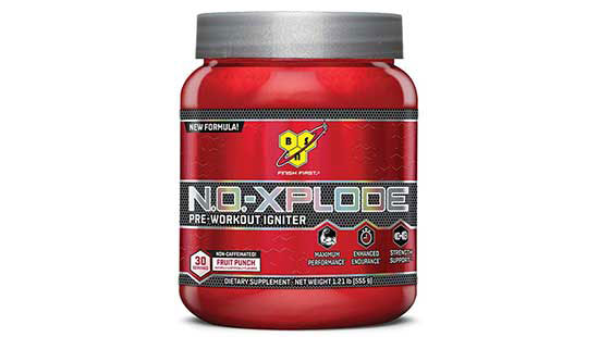 N.O. – Xplode Pre-Workout Supplement by BSN