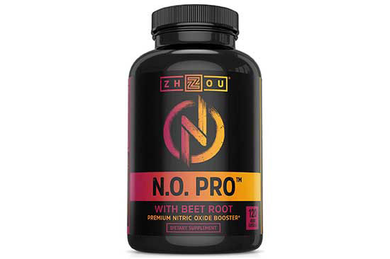 N.O. Pro Nitric Oxide Supplement by Zhou Nutrition