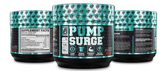 Pumpsurge Caffeine Free Pre Workout Supplement by Bioperine and Hydromax