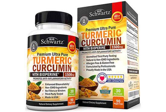 Turmeric Curcumin with Bioperine by BioSchwartz