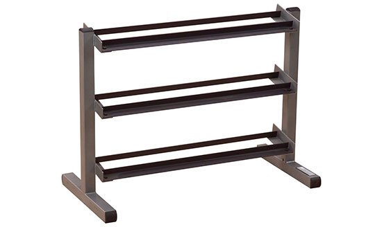 Body-Solid GDR363 3-Tier Horizontal Dumbbell Rack