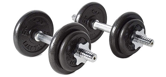 CAP Barbell RSWB-40TP Adjustable Dumbbell Set
