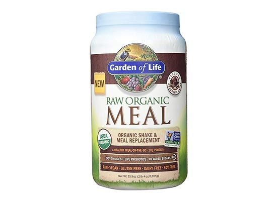 Garden of Life Meal Replacement – Organic Raw Plant Based Protein Powder