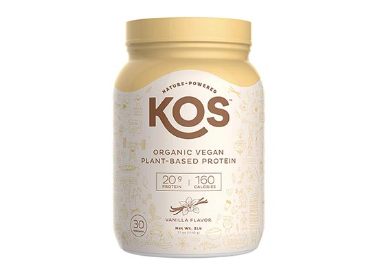 KOS Organic Plant Based Protein Powder – Raw Organic Vegan Protein Blend