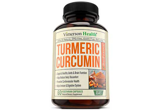 Turmeric Curcumin with Bioperine by Vimerson Health