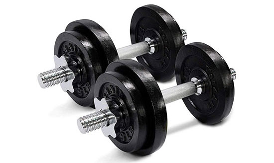 Yes4All Adjustable Dumbbell Set