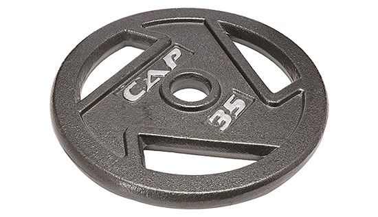 CAP Barbell 2-Inch Olympic Grip Plate by CAP Barbell