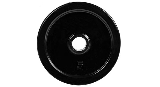 Rubber Coated Weight Plate by CAP Barbell