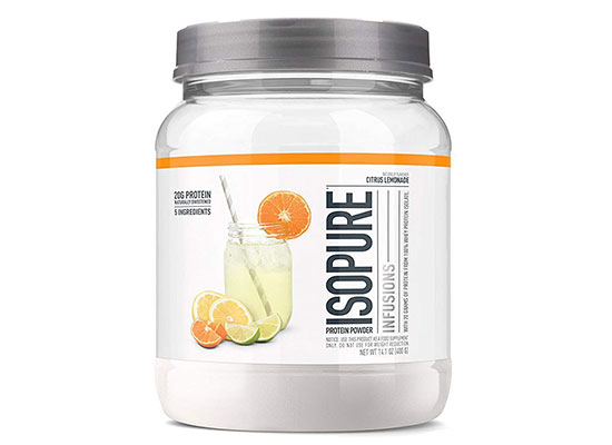 Isopure Infusions Whey Protein Isolate Powder by Isopure