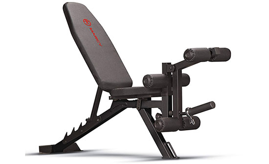 Marcy Adjustable 6 Position Utility Bench and Leg Developer SB-350