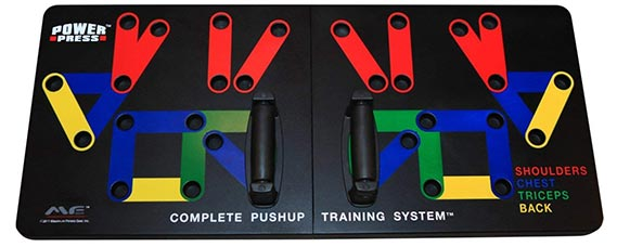 Press Pushup Complete Training System by Maximum Fitness Gear