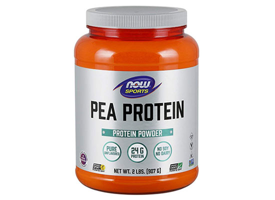 Sports Pea Protein Powder (Unflavored) by NOW Foods