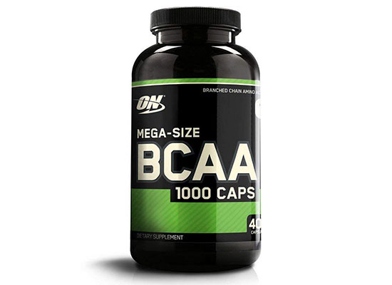 Instantized BCAA Capsules by Optimum Nutrition