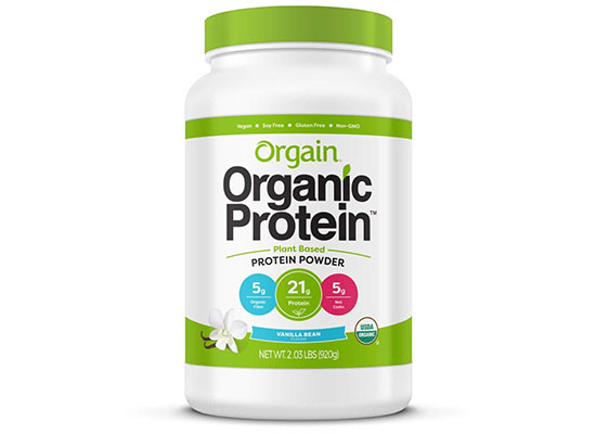 Organic Plant Based Protein Powder (Vanilla) by Orgain