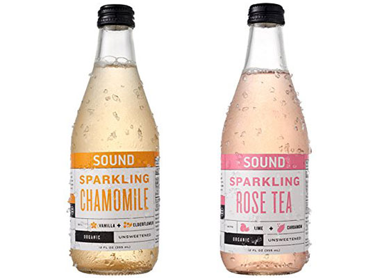 Sparkling Organic Tea by SOUND Tea