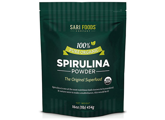 Pure Organic Spirulina Powder by Sari Foods