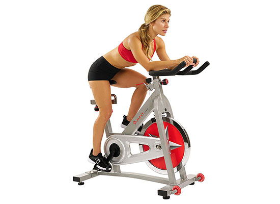 Pro Indoor Cycling Bike by Sunny Health & Fitness