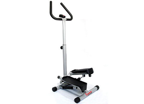 Twist Stepper Step Machine No. 059 with Handle Bar by Sunny Health & Fitness