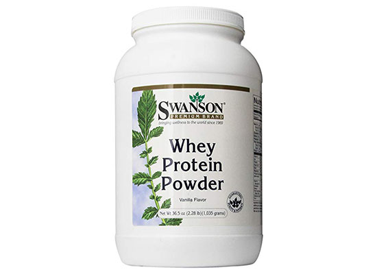 Whey Protein Powder (Vanilla) by Swanson Health