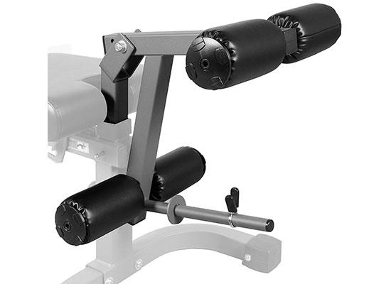 Universal 11-Gauge Adjustable Leg Curl/Extension Attachment XM-7455